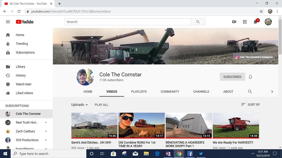 cole the cornstar