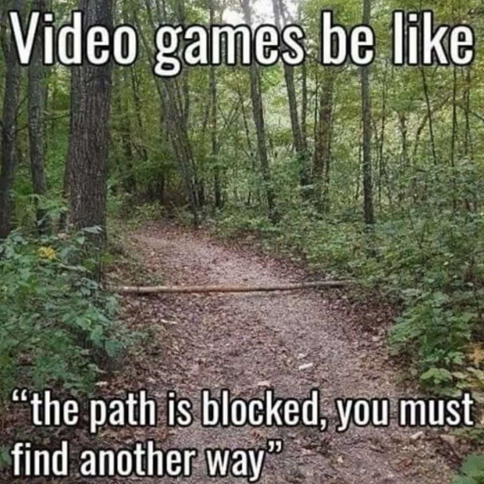 when-you-play-pubg-game-be-like-and-blocked-road-but-find-another-side-way