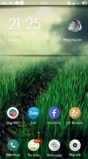 Tema Vanilla N9 ColorOS Android