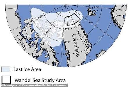 """Λιώνει η """"τελευταία περιοχή πάγου"""" της Αρκτικής"""