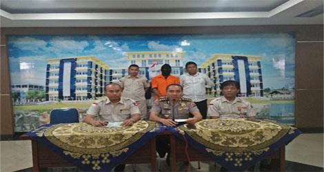 Ditreskrimsus Polda Sumbar   Amankan     Pelaku Illegal Mining  Di Silungkang Sawahlunto