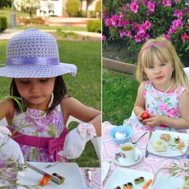 Mother's Day Party Ideas | A Mother & Daughter Tea Party