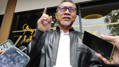 Wakilnya Klaim PAN Siap Dukung Gibran ke Pilgub DKI, Zulhas Bilang Nanti Dulu
