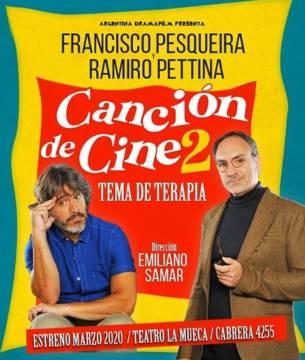 Canción de Cine 2… Tema de Terapia Estreno 19 de Septiembre 16.00 hs. Centro Cultural 25 de Mayo