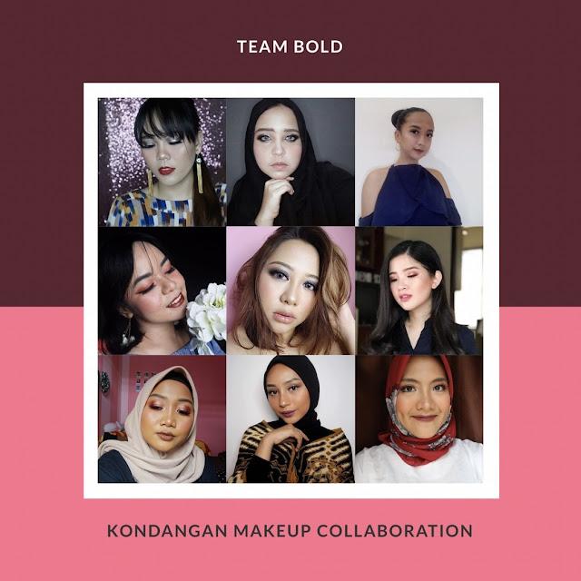 inspirasi makeup kondangan , bold makeup , makeup pesta
