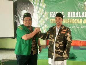 Ajengan di Cisarua Didaulat Jadi Anggota Kehormatan Banser NU Bandung Barat