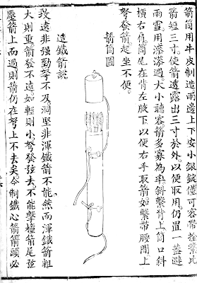 Chinese Crossbow Quiver