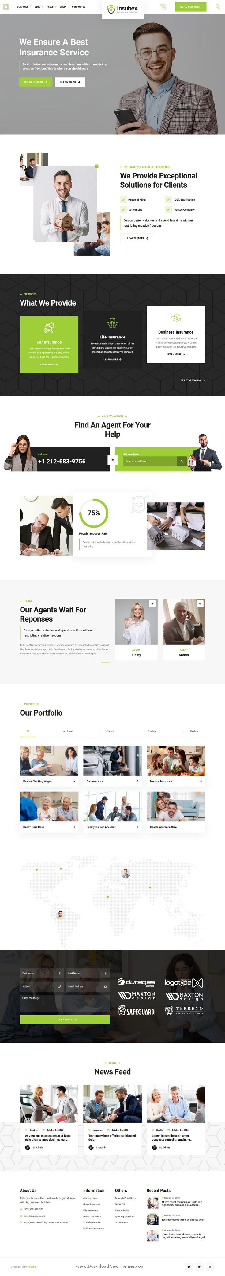 Multipurpose Consulting WordPress Theme