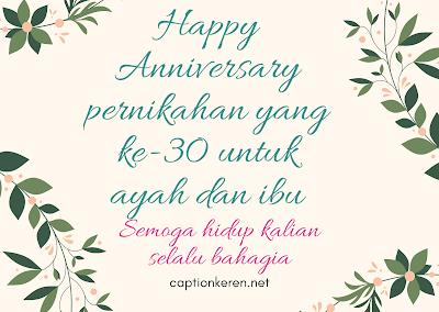 happy wedding anniversary untuk orang tua