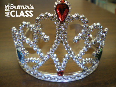 Teaching tip: Wear a tiara to indicate to students that you are busy with a group and cannot be disturbed!