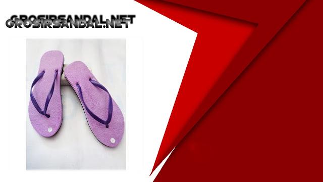 Sandal Jepit Polos Wanita BJG | Pabrik sandal-sandal polos murah