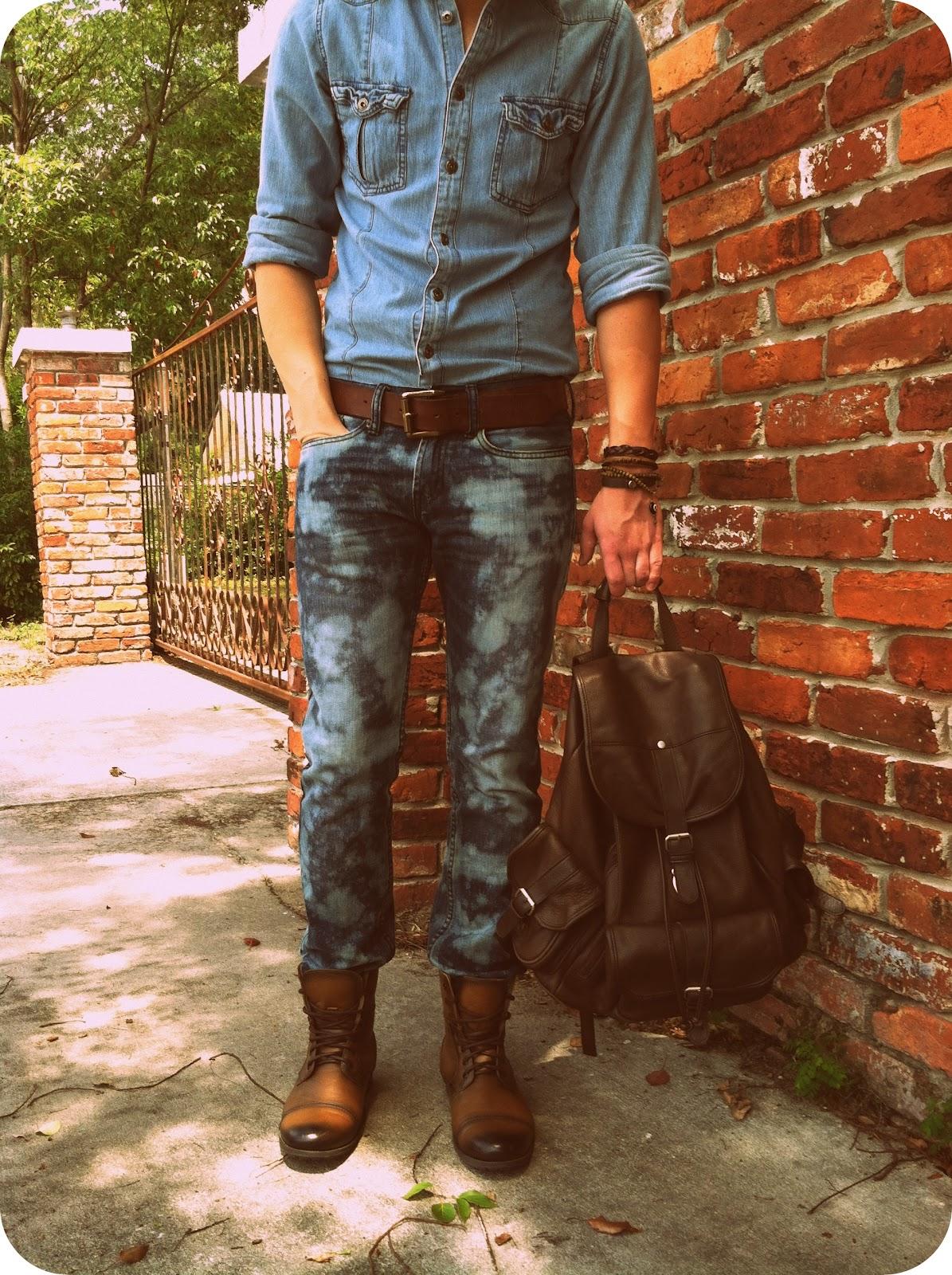 Wobisobi Bleached Jeans Diy