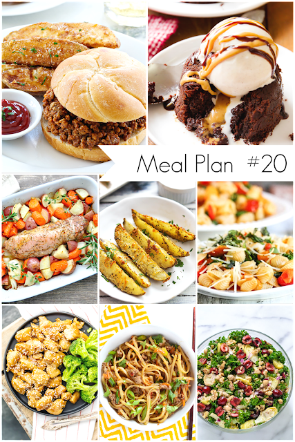 Ioanna's Notebook - Weekly Meal Plan # 20 - Healthy and delicious recipes for everyone