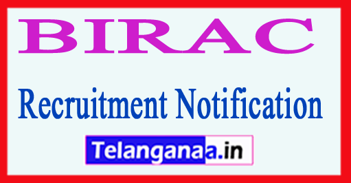 Biotechnology Industry Research Assistance Council BIRAC Recruitment Notification 2017