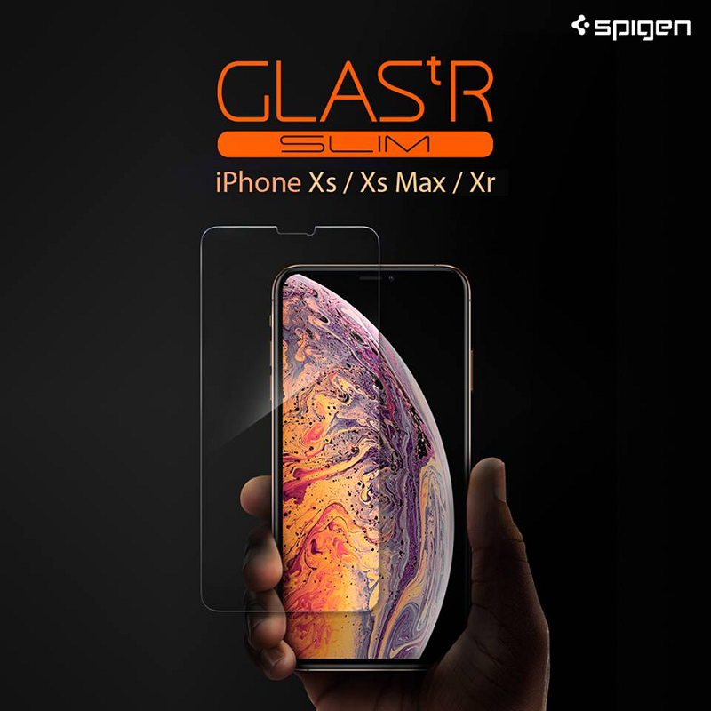 Spigen iPhone GLAS.tR Slim