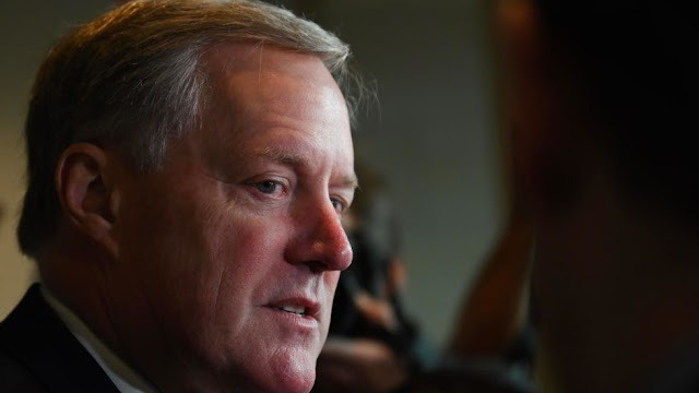 US President Donald Trump announce Mark Meadows as fourth chief of staff