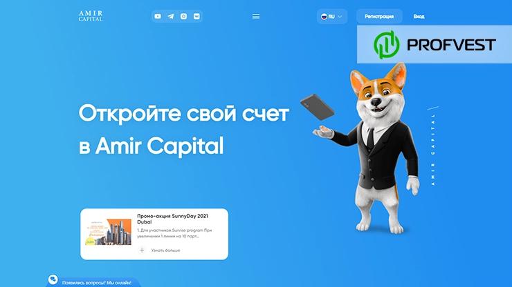 Amir Capital обзор и отзывы HYIP-проекта