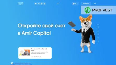 🥇Амир Капитал: обзор и отзывы о Amir.capital (HYIP платит)