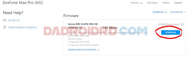 Cara ROOT Asus Zenfone Max Pro M2 tanpa TWRP