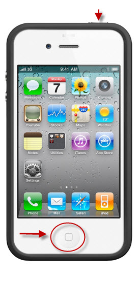 restart iphone 4 how to reset iphone 4 gsm mobile phone reset 12883