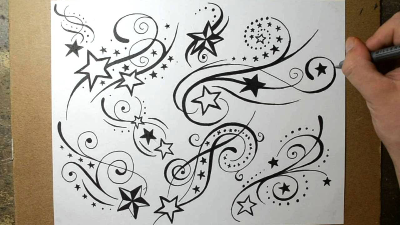 Shooting Star Tattoo Designs 2016