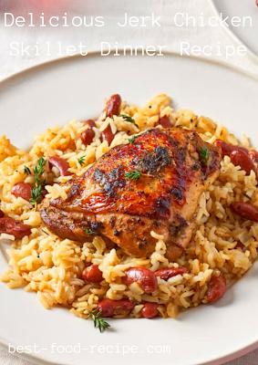 Delicious Jerk Chicken Skillet Dinner Recipe