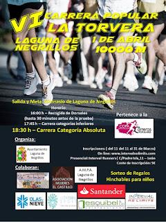 Carrera Popular La Torvera 2017