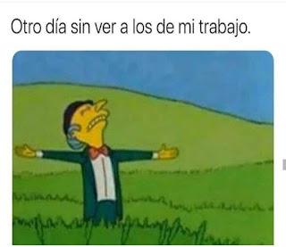 Señor Burns con los brazos abiertos