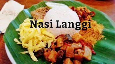 Resep Masakan Nasi Langgi