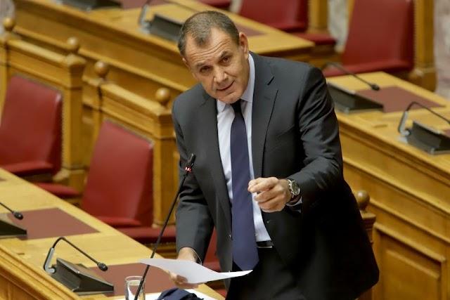 Ομιλία Παναγιωτόπουλου στη Βουλή για 40ωρο-HEE-Νυκτερινά-Επιπλέον οικονομική ενίσχυση-Άδειες στελεχών ΕΔ