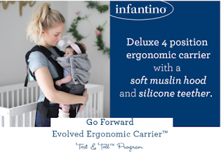 Free Infantino Go Forward Evolved Ergonomic Baby Carrier Product