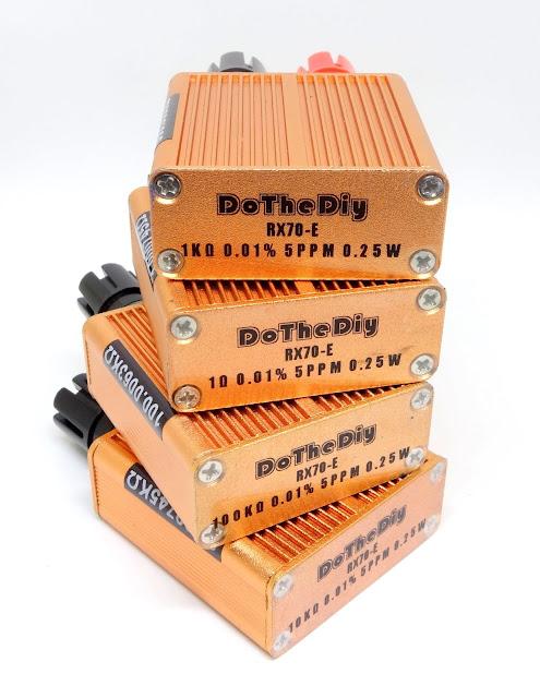 DIY Resistance Standard box