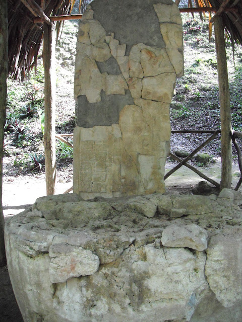 Tikal National Park Guatemala Mayan ruins stela altar