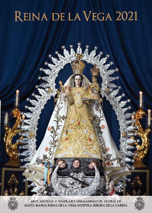 Cartel de la Festividad de Santa María Reina de la Vega 2021 de Churriana de la Vega, y de la Vega de Granada