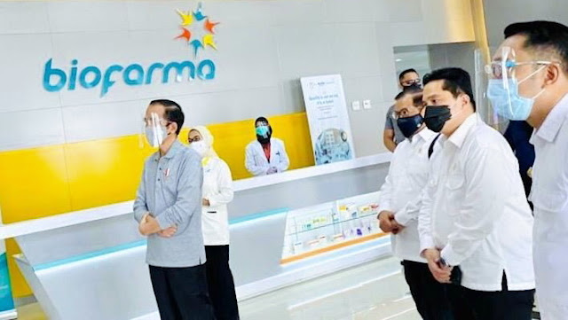 Jokowi Berharap Vaksin Merah Putih Selesai Pertengahan 2021