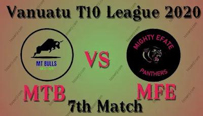 Who will win MTB vs MFE 7th T20I Match