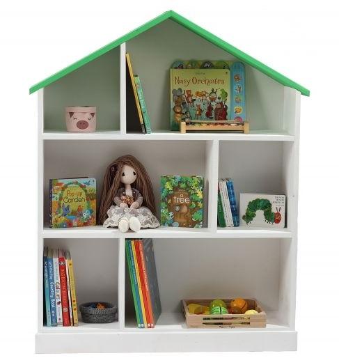 Библиотека BookHouse White & Green