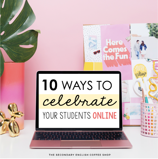 10 ways to celebrate students online
