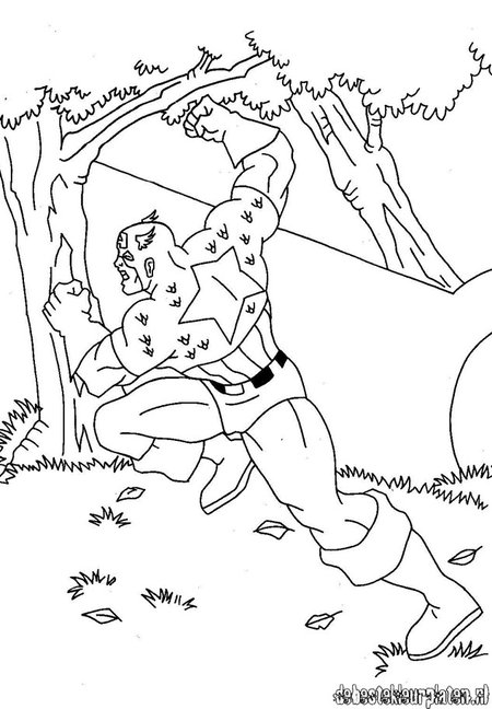 baby captain america coloring pages - photo#43