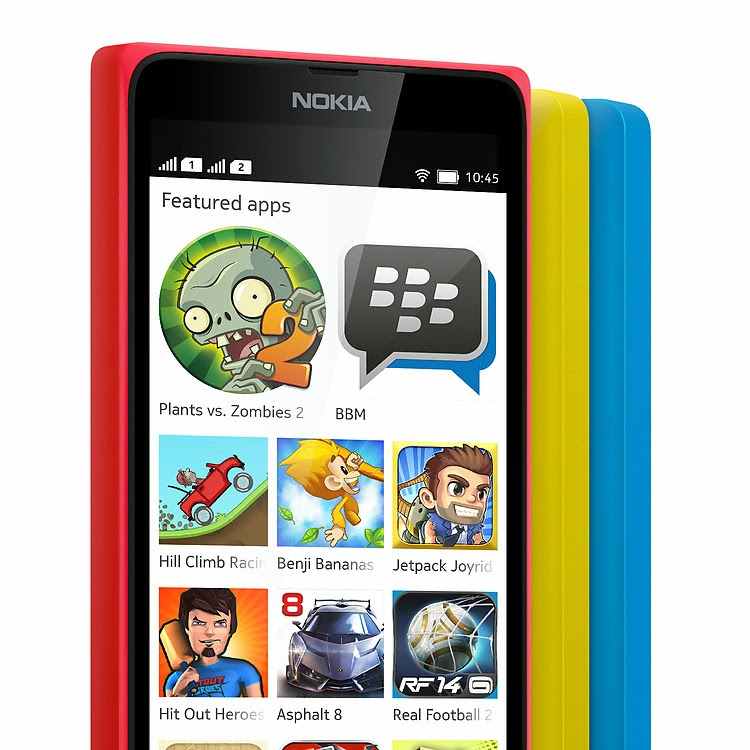 Nokia X dual SIM Android mobile