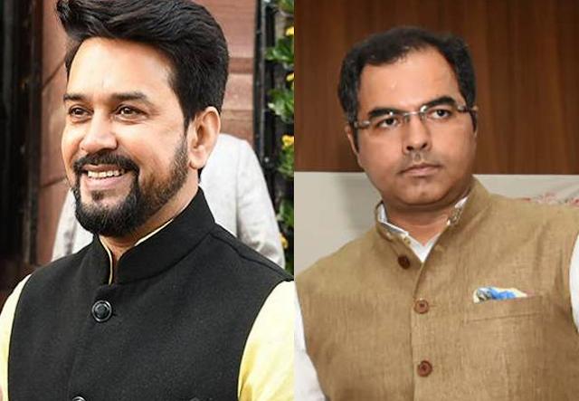 Pravesh Verma on shaheen bagh, EC ban Anurag Thakur and Pravesh Verma, Anurag Thakur campaign