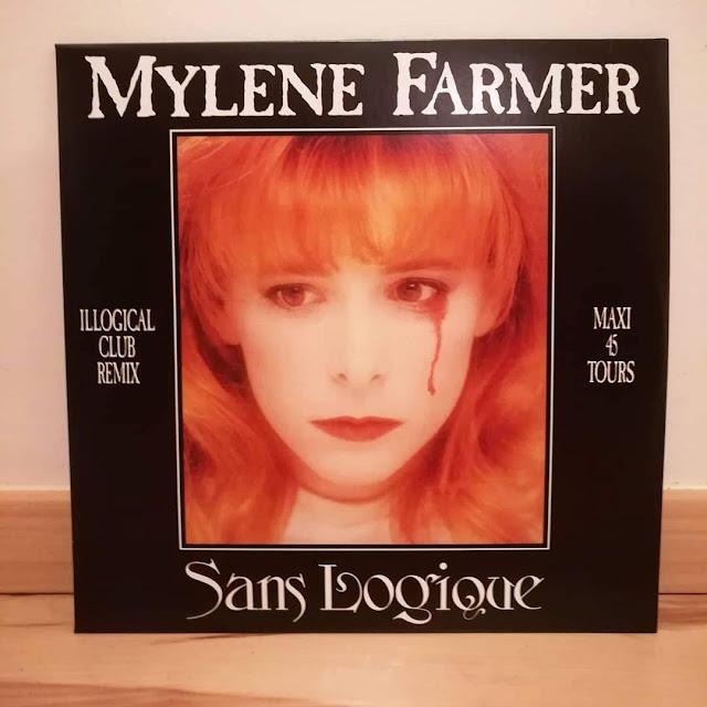 Mylène Farmer - Sans logique - Maxi 45 tours vinyle
