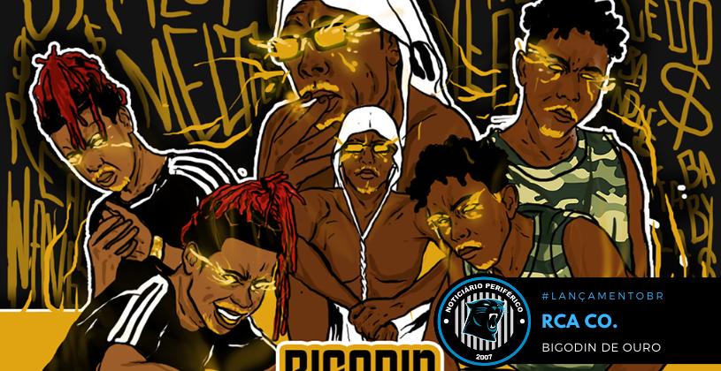 """O grupo baiano RCA Co. lança a mixtape """"Bigodin de Ouro"""""""