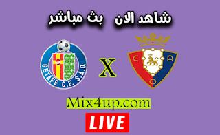 مشاهدة مباراة خيتافي وأوساسونا بث مباشر اليوم بتاريخ 19-09-2020 في الدوري الاسباني
