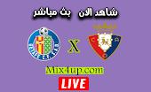 نتيجة مباراة خيتافي وأوساسونا اليوم بتاريخ 19-09-2020 في الدوري الاسباني