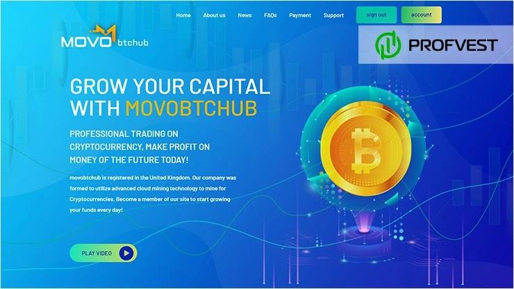 Movobtchub LTD обзор и отзывы HYIP-проекта