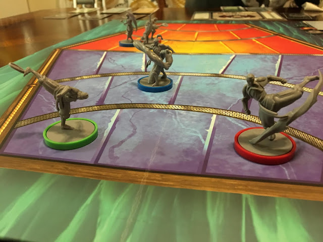 Legend of Korra Pro-Bending Arena from IDW Games Board Game Review by Benjamin Kocher. Photo by Benjamin Kocher