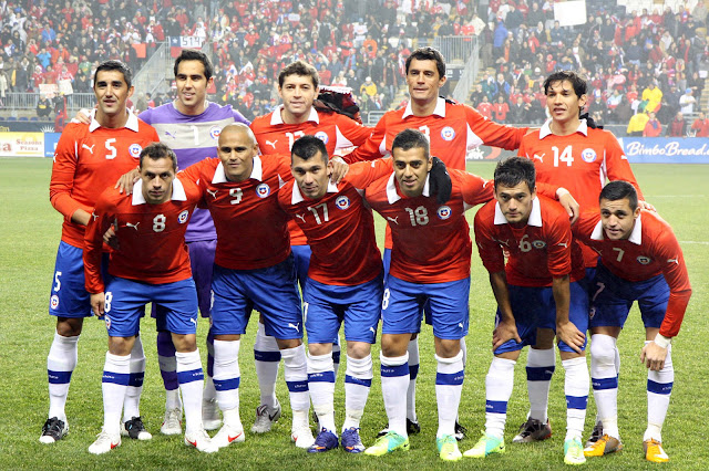Formación de Chile ante Ghana, amistoso disputado el 29 de febrero de 2012