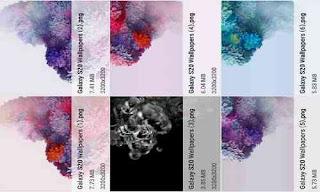 Download Stock Wallpaper Galaxy S20 Gratis