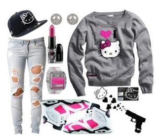 Gambar Baju Hello Kitty Untuk Remaja 7